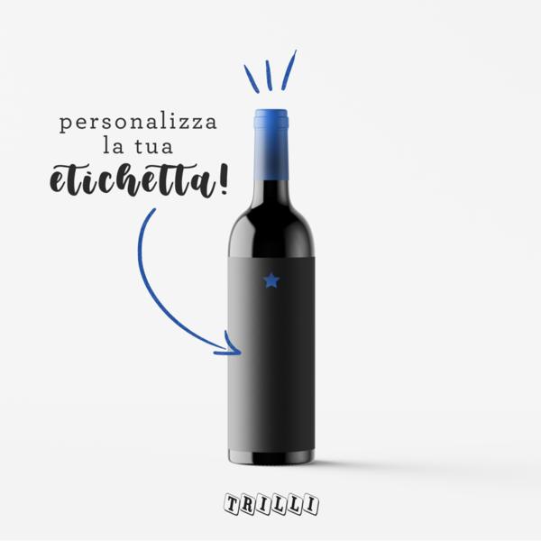 bottiglia personalizzata festa del papà